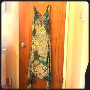 NWOT Colorful maxi